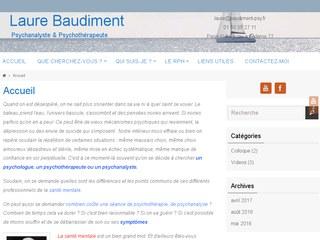 Laure Baudiment # Psychanalyste 77 & 75