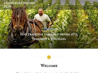 Champagne Jérôme Blin # Producteur