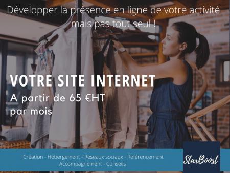 """Site de démarrage """"Présence en ligne"""""""