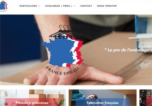 Read more about the article Création de site e-commerce : France Emball'