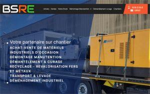 Read more about the article Création de site vitrine commerce de gros et industrie : B.S.R.E