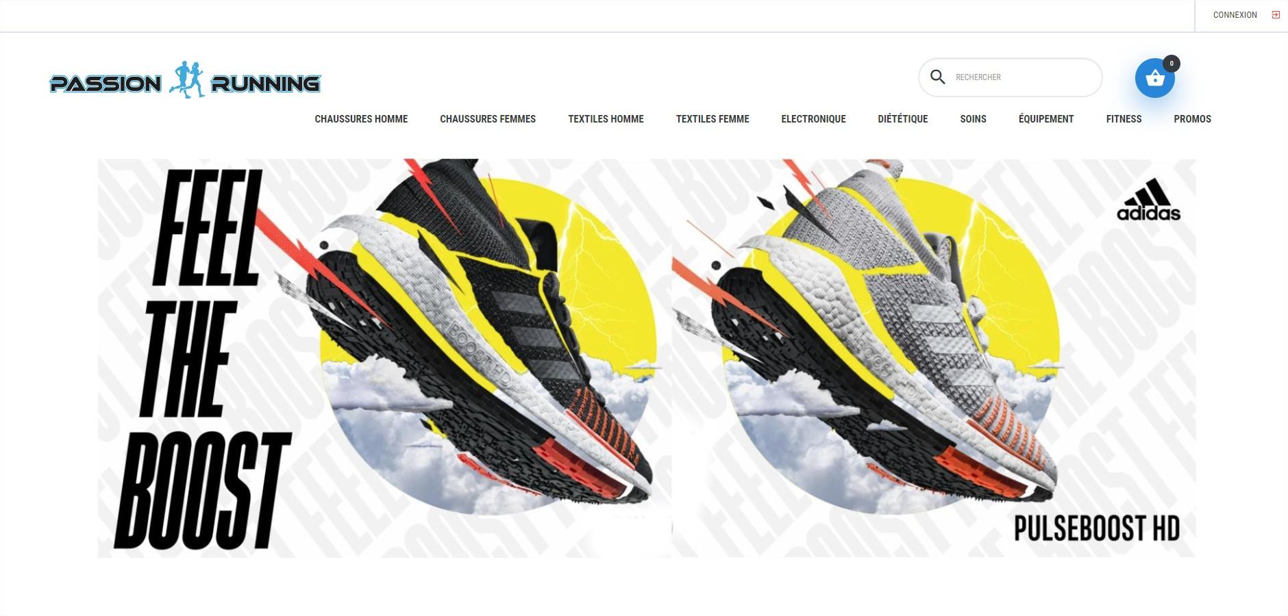 Passion Running | StarBoost Création de sites internet 77