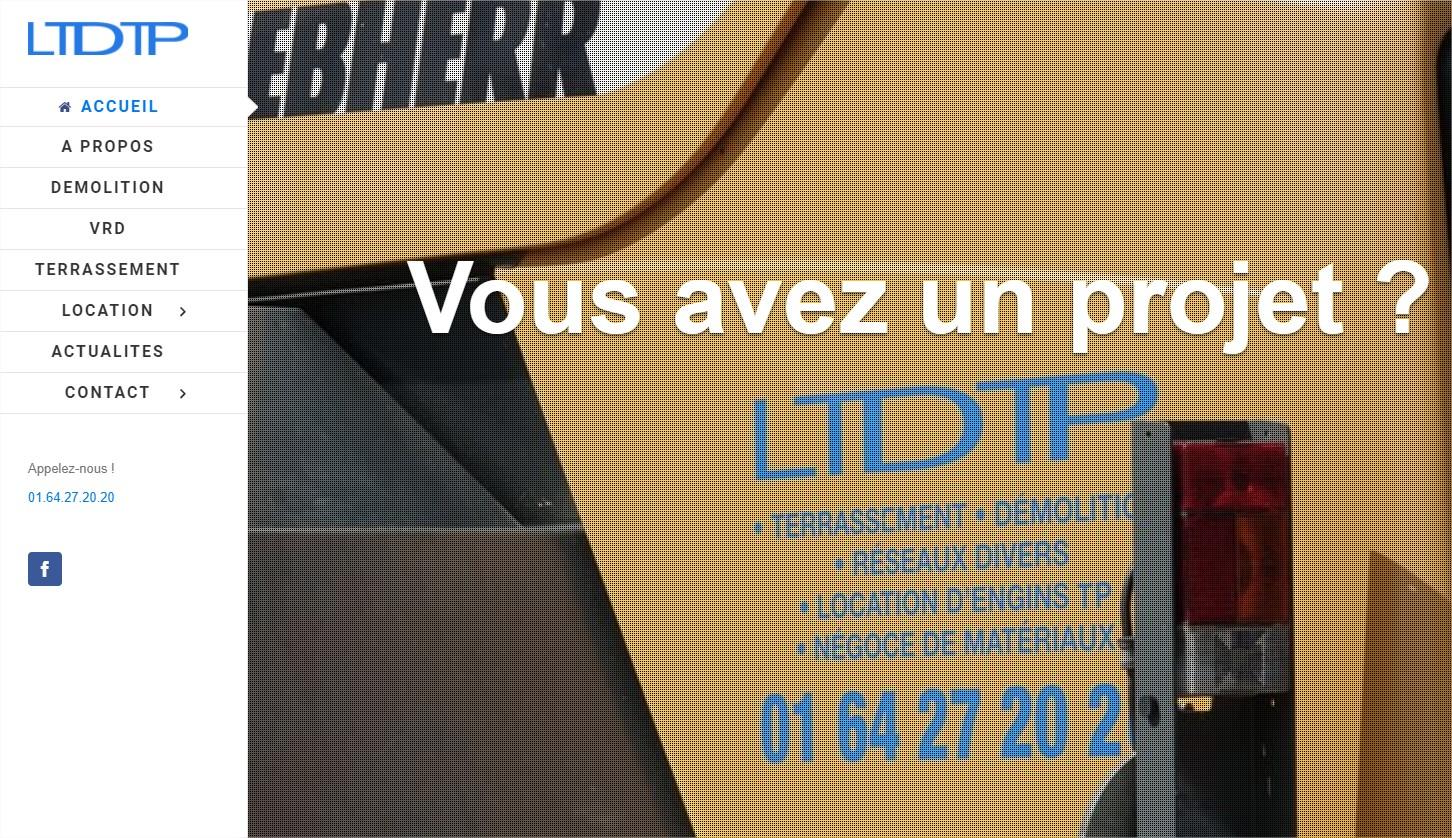 LTDTP # Terrassement Démolition Location