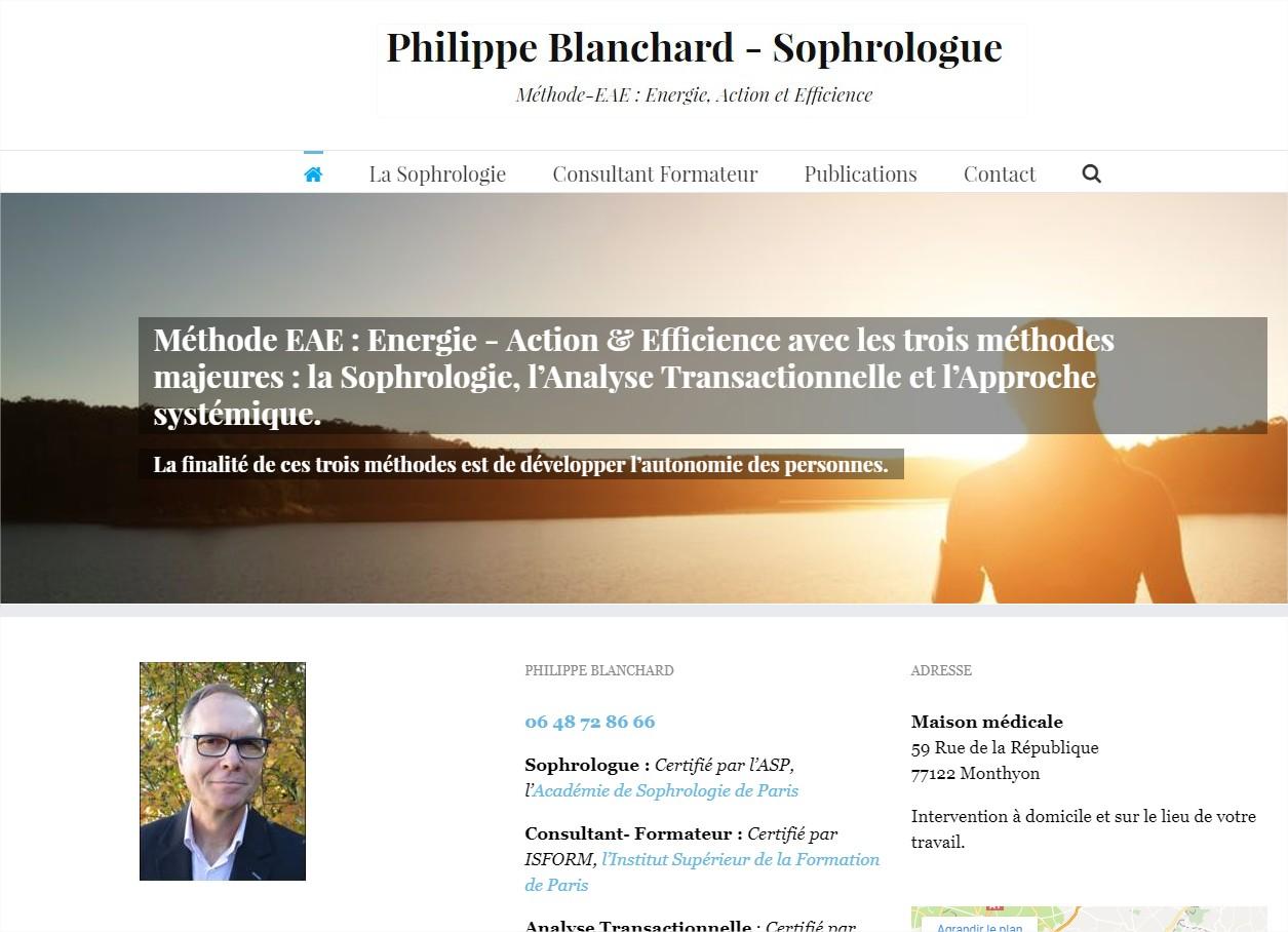 P. Blanchard # Sophrologue & Consultant Formateur 77